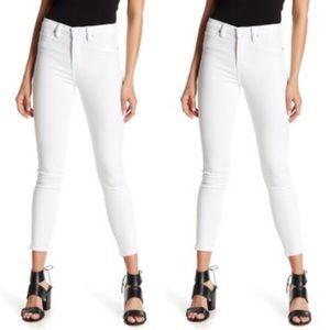BLANK NYC White Skinny High Waist Pants